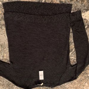 Charcoal sweater
